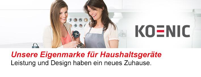 Koenic Elektrogeräte für Haushalt und Styling bei MediaMarkt