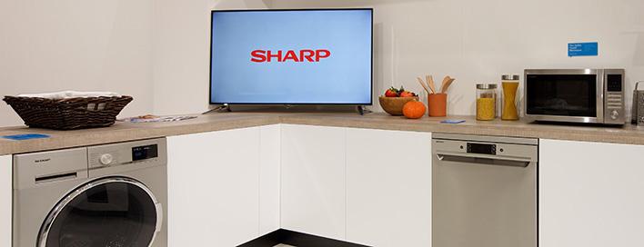 sharp geschirrsp ler g nstig kaufen bei mediamarkt. Black Bedroom Furniture Sets. Home Design Ideas