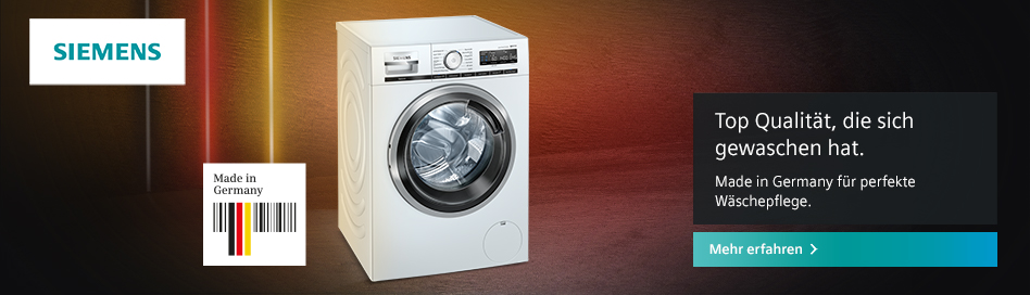 Siemens Bietet Hochwertige Elektrogeräte Für Jeden Bedarf – Bei