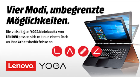 Lenovo Yoga Notebooks