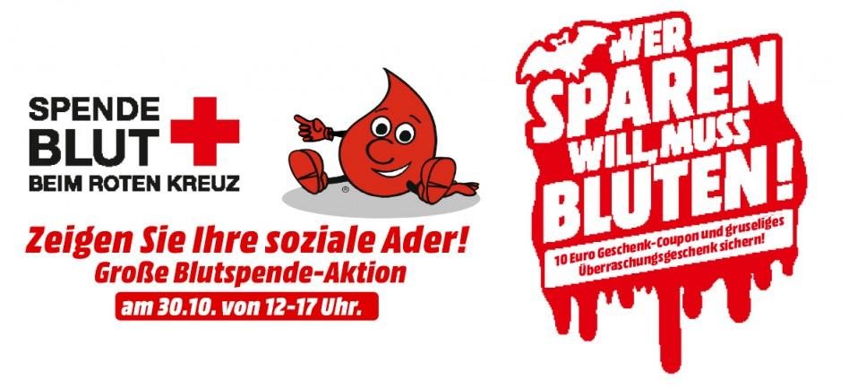 Blutspende-Aktion MediaMarkt Leipzig-Paunsdorf (im