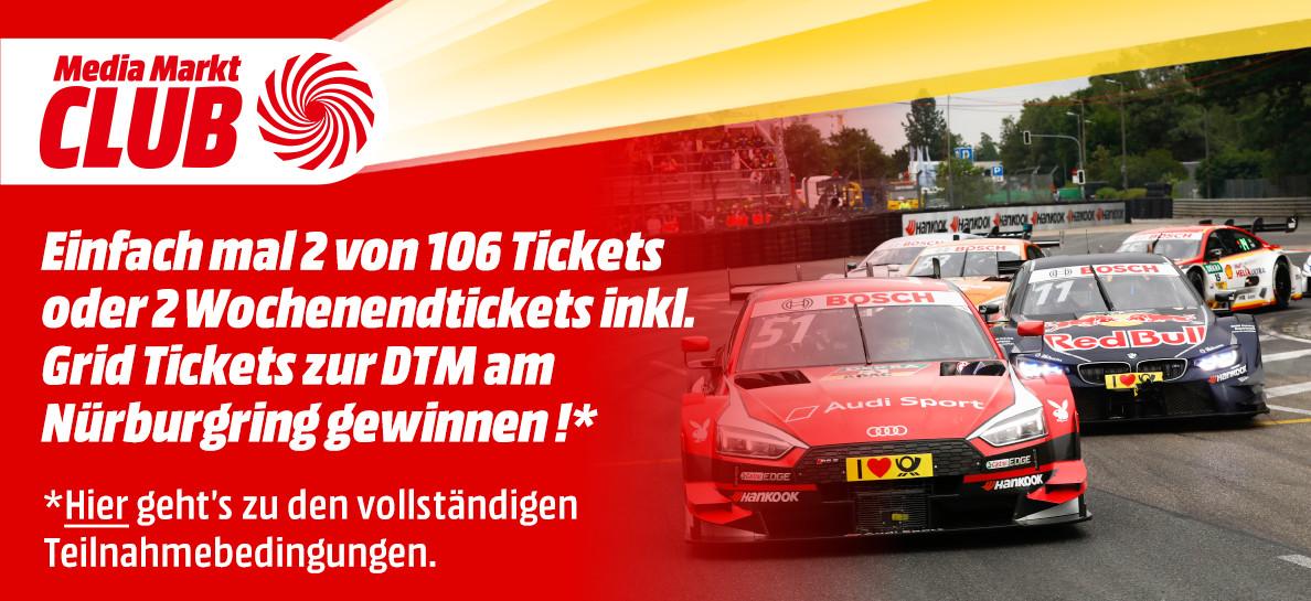 DTM Nürburgring Gewinnspiel MediaMarkt Aachen