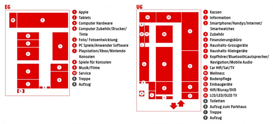 Marktplan MediaMarkt Aachen