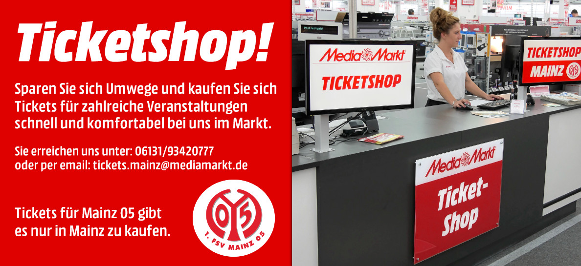 Ticketshop Mainz