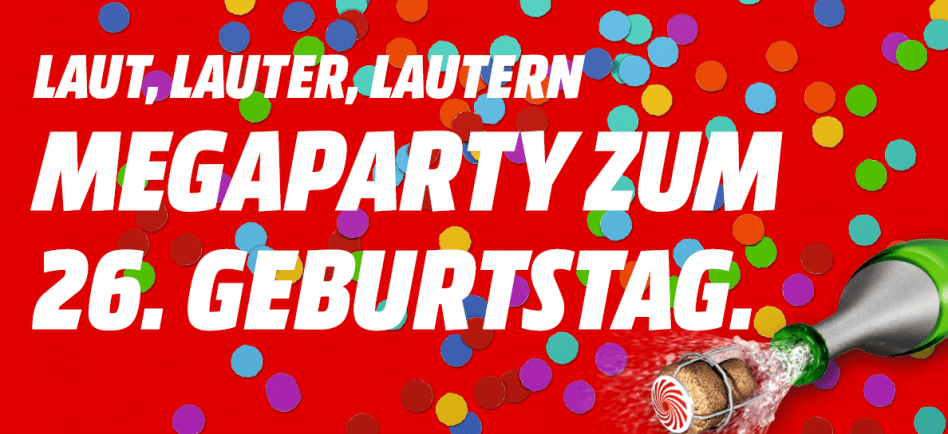 Geburtstag Mediamarkt Kaiserslautern