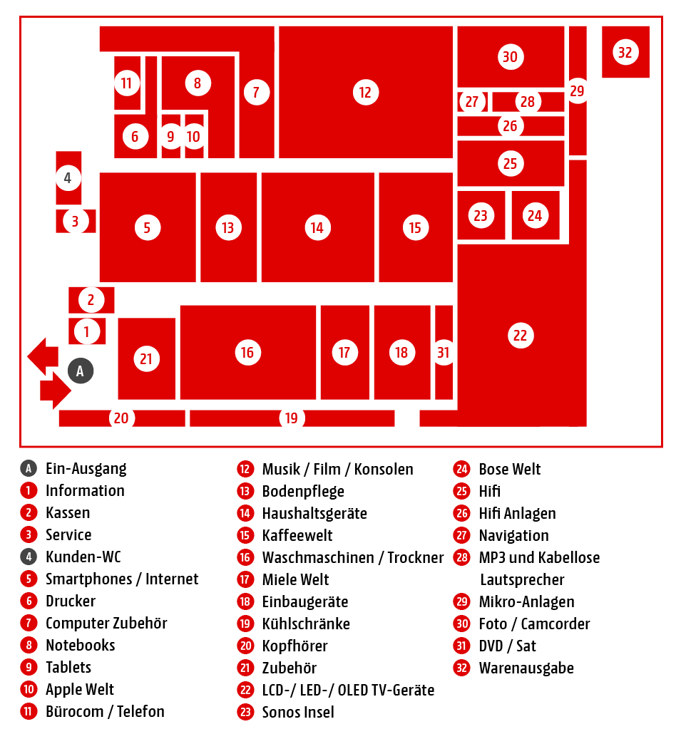 Marktplan MediaMarkt Lippstadt