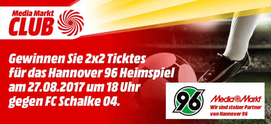 Geschirrspüler Gewinnen gewinnen sie 2x2 tickets für das hannover 96 heimspiel mediamarkt