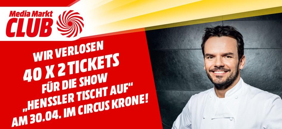Gewinnen Sie Steffen Henssler Tickets Für Circus Krone Mediamarkt